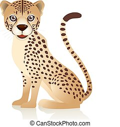 Cute cheetah