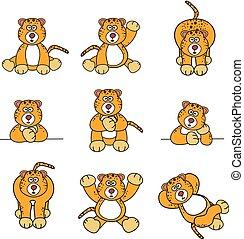 Cute Cheetah Set
