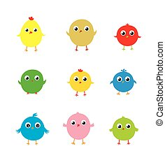 cute chicken collection