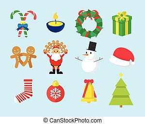 Cute Christmas Vector Graphic Pack