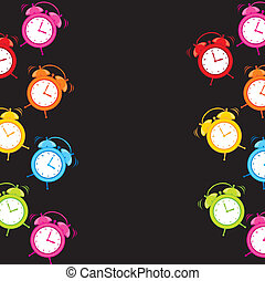clock alarm - cute clock alarm with space for copy over ...