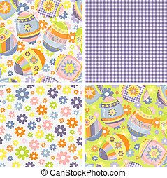 Cute collection of Easter patterns - Cute collection of...