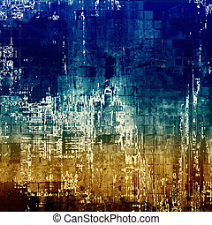 Cute colorful grunge texture or tinted vintage background. With different color patterns: yellow (beige); brown; blue; white
