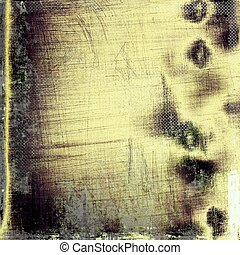 Cute colorful grunge texture or tinted vintage background. With different color patterns: yellow (beige); brown; green; gray; black