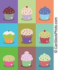 cute cupcake frame
