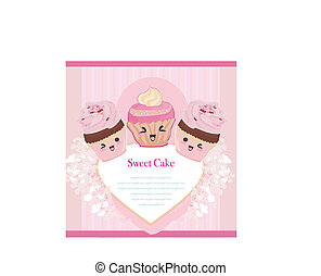 Cute Cupcakes card