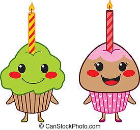 cute, cupcakes