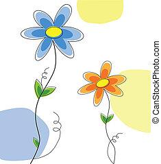 cute, daisies