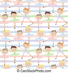 Seamless pattern for baby and child wallpapers, textile,...