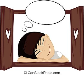 Cute daydream