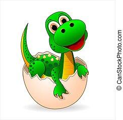 Cute dinosaur-baby