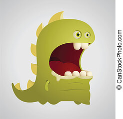 Cute Dinosaur - Cartoon Character