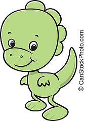 Cute dinossaur cartoon