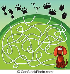 Cute Dog's  Game