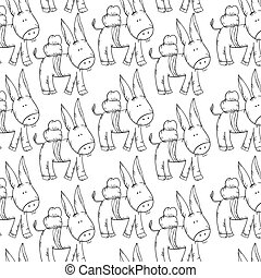 donkey animal background