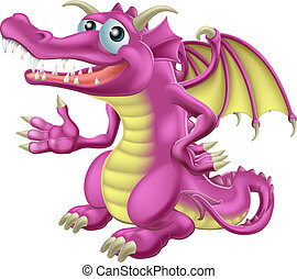 cute, dragão