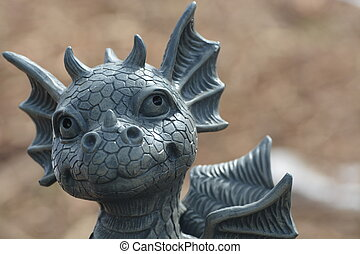 Cute Dragon - Cute little dragon I fell in love with......