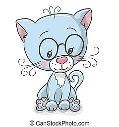 Cute Drawing Kitten