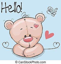 Cute Drawing Teddy