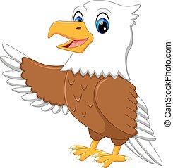 cute eagle