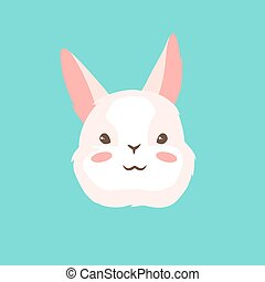 Cute Easter Bunny illustration.