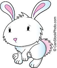 Easter Bunny Rabbit Vector