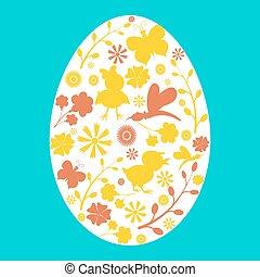 Cute Easter card.