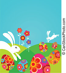 Cute Easter template