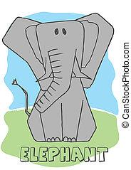 Cute Elephant.