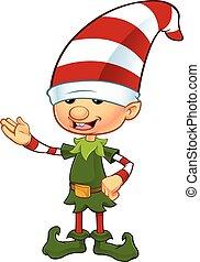 Cute Elf - Presenting