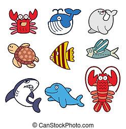 cute, fish, element