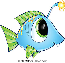 Cute Fish Vector Art