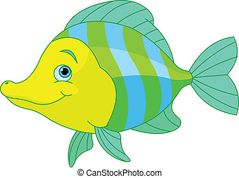 cute, fish