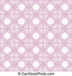 Cute Floral pattern of small flowers.