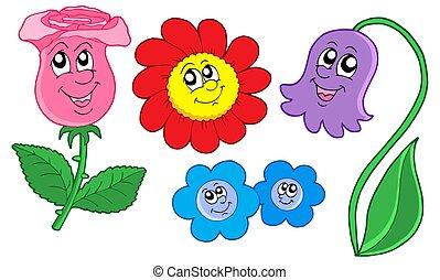 cute, flores, cobrança