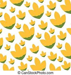 cute flower pattern background