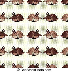 Cute forest two buck vector illustration. Buck deer with ...