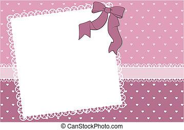 cute frame scrapbook background