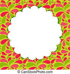 Cute Frame  Vector Illustration