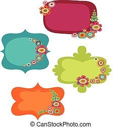 Cute frames - Cute colorful frames