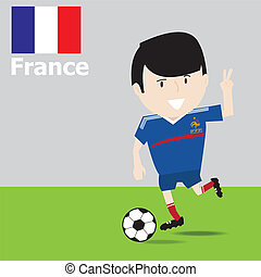 Cute France soccer player.