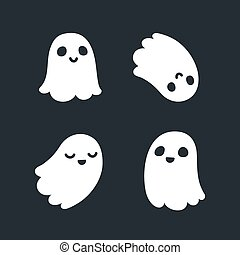 Cute ghosts