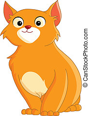 cute ginger cat - cute cat with red hair