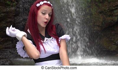 Cute Girl As Cosplay