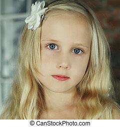Cute girl, portrait