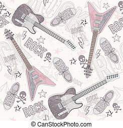 Cute grunge abstract pattern.