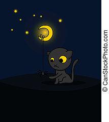 cute, halloween, card