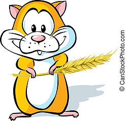 cute, hamster
