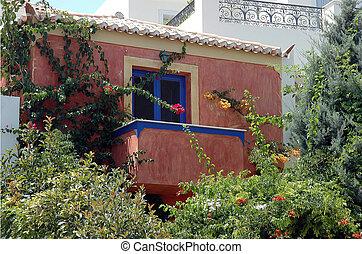 Cute house with garden