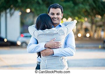 Cute hugs